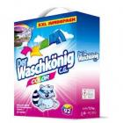 Der  Waschkönig  COLOR  Alpen Frisch  5,0  kg  prací prášek na barevné prádlo.