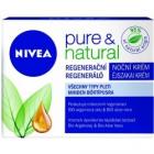 NIVEA Pure & natural  krem noční 50 ml